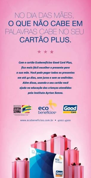 Dia das Mães Ecobenefícios