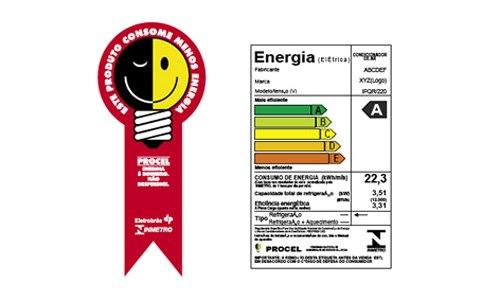 Dê preferência a aparelhos com maior eficiência energética