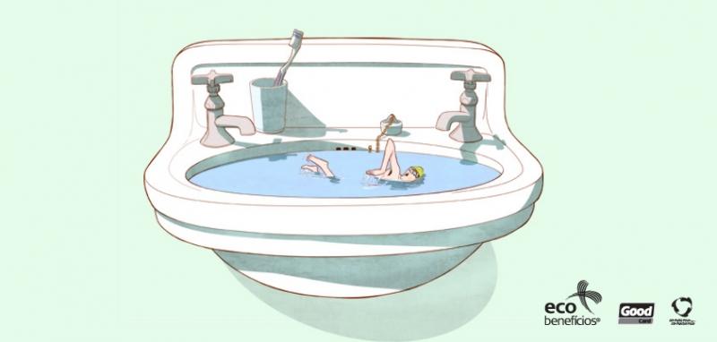 Use a água com consciência