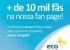 + de 10 mil fãs na fan page da Ecobenefícios